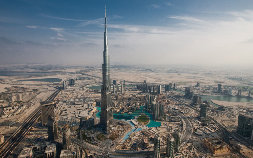 Burj khalifa highest tower in the world