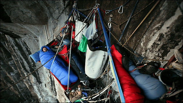 The Most Thrilling Cliff Camping Ever