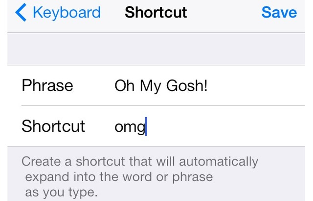 Create Shortcuts Cool hidden features of iPhone