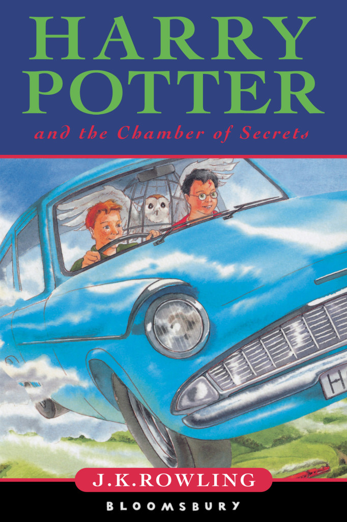 Harry-Potter-And-The-Chamber-Of-Secrets - Old Book Cover