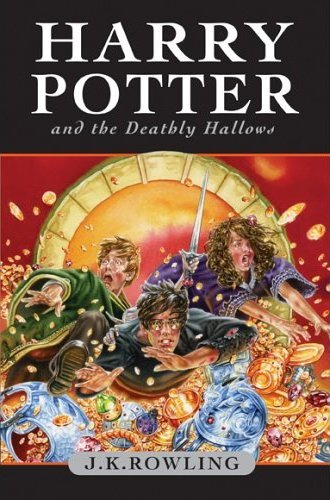 Harry Potter and the Deathly Hallows old Book cover