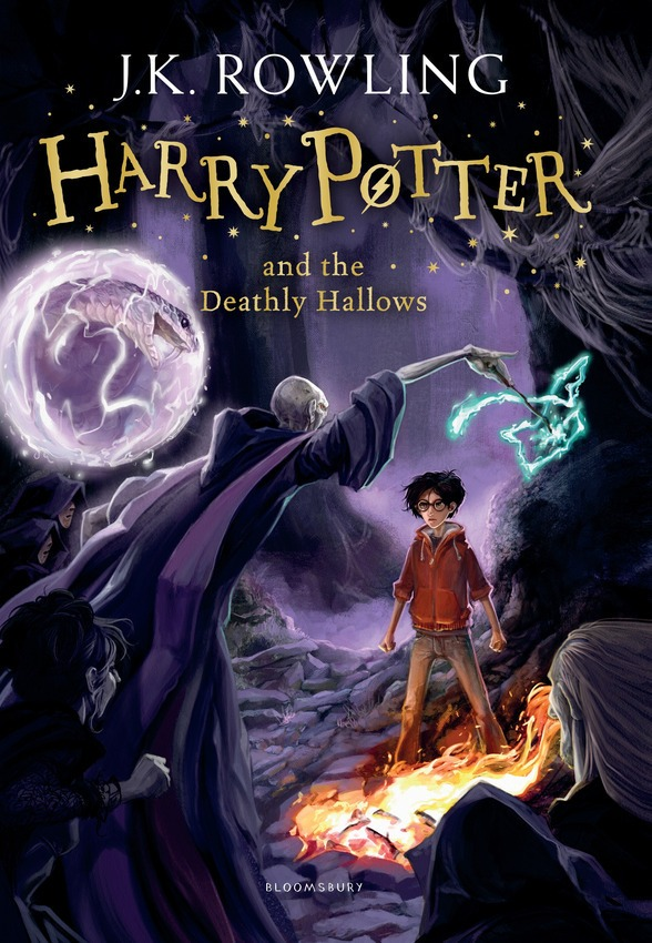 Harry Potter and the Deathly Hallows New Book Cover