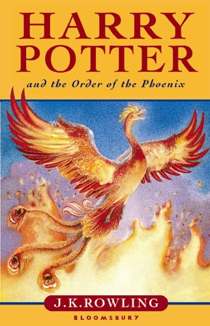 Harry Potter and the Order of the Phoenix - Old Cover