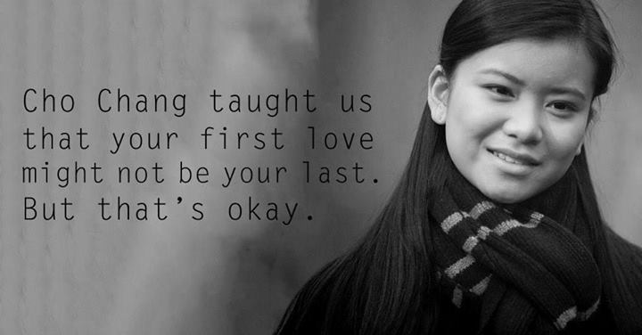 Lessons from Harry Potter Cho Chang