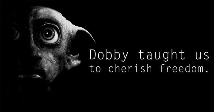 Lessons from Harry Potter Dobby