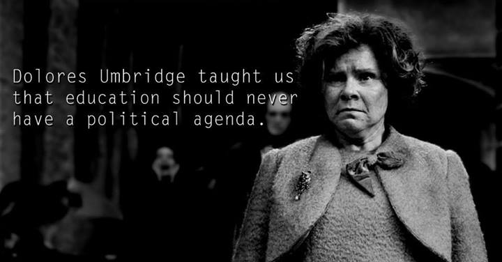 Lessons from Harry Potter Dolores Umbridge