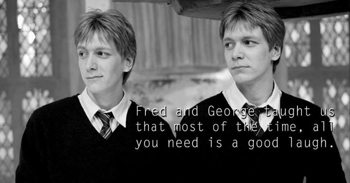 Lessons from Harry Potter Fred and George