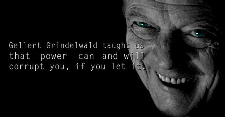 Lessons from Harry Potter Gellert Grindelwald