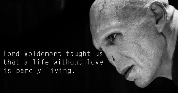 Lessons from Harry Potter Lord Voldemort