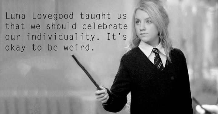 Lessons from Harry Potter Luna Lovegood