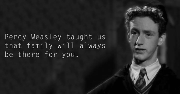 Lessons from Harry Potter Percy Weasley