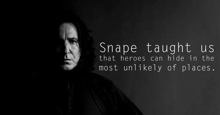 Lessons from Harry Potter Snape