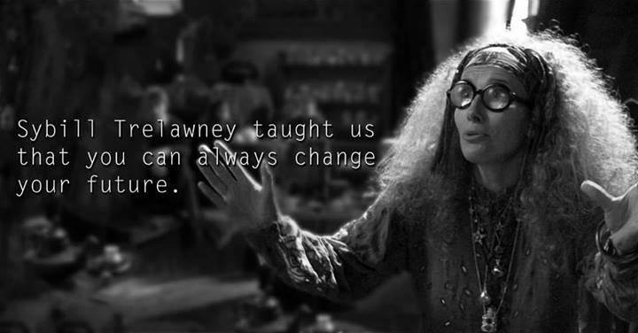 Lessons from Harry Potter Sybill Trelawney