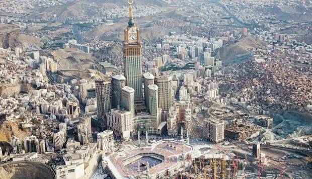 Makkah Royal Clock Tower Hotel highest buildings in the world