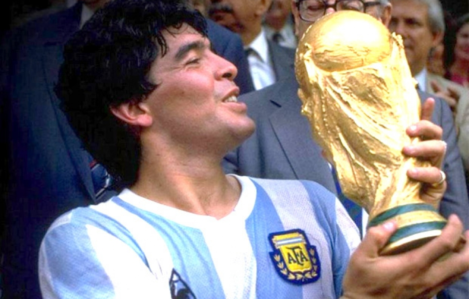 Maradona best world cup football performances