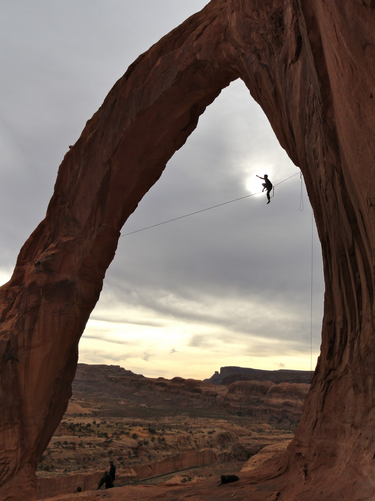 Rope activity at Moab