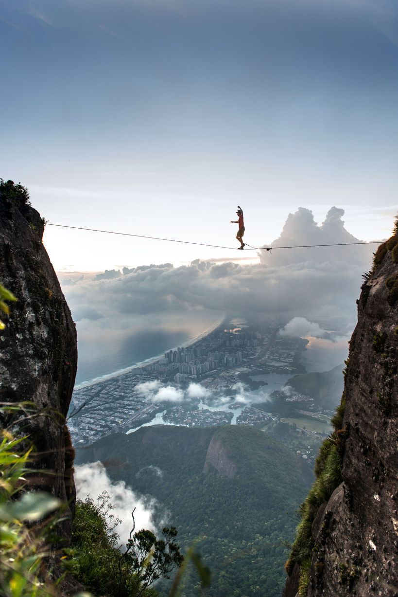 Yes, they actually did this in Brazil at Pedra da Gavea Highline