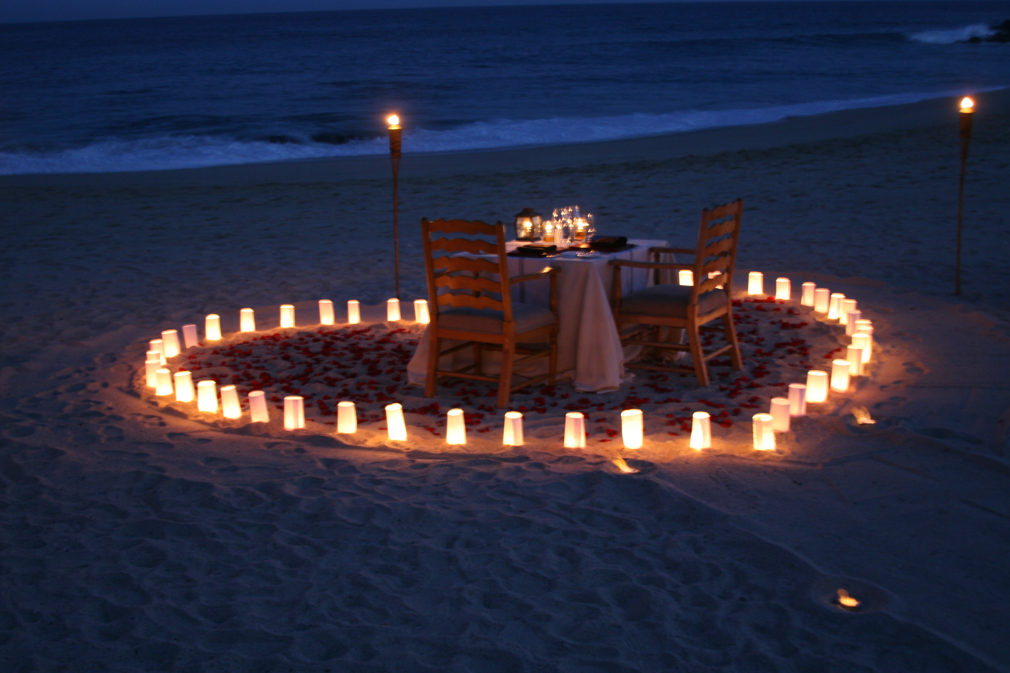 Romantic dinner is the most amazing thing for you, have it here