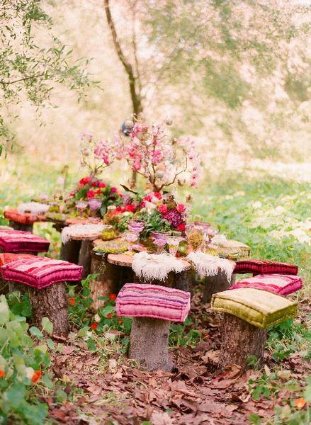 Romantic Backyard Dinner Ideas : Smart romantic outdoor dinner ideas