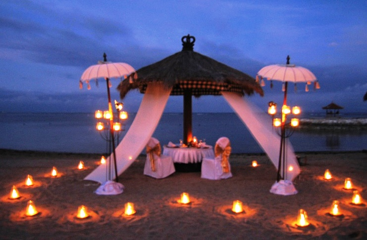 Extremely amazing location to have romantic dinner