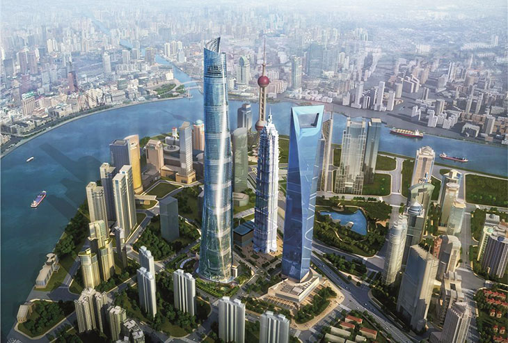Shanghai Tower worlds highest buildings