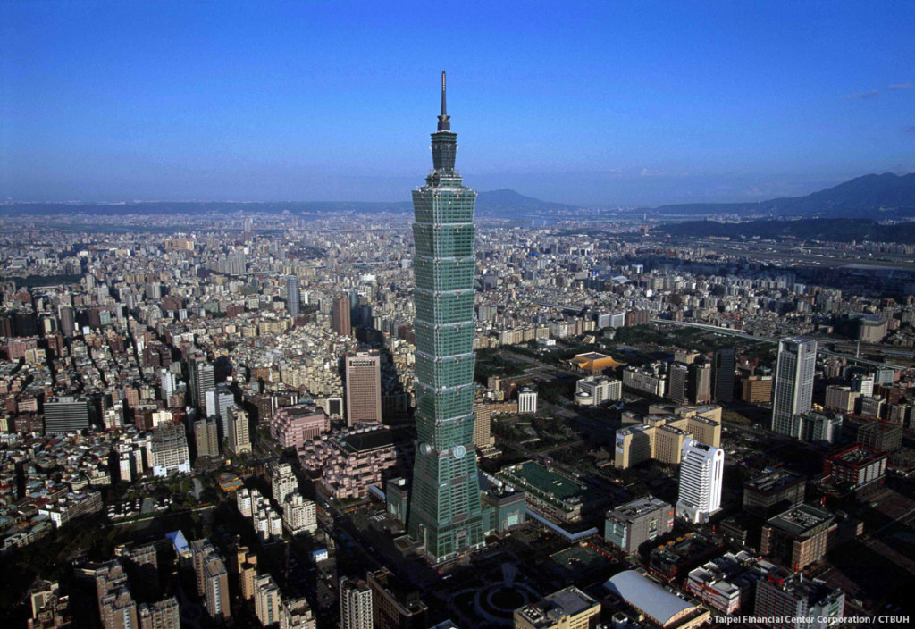 Taipei 101 highest buildings in the world