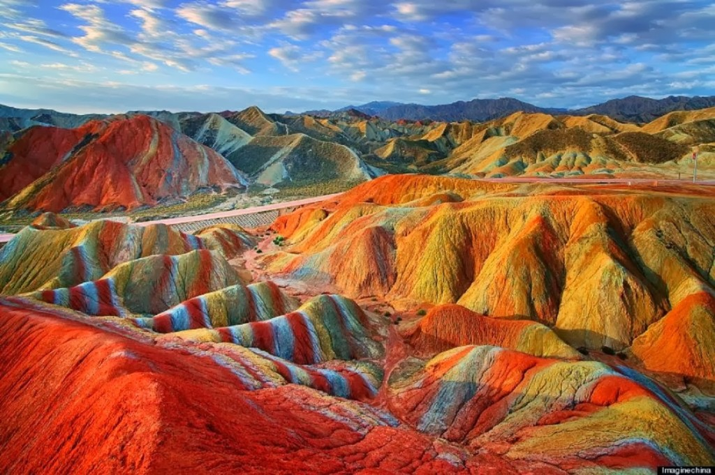 Zhangye Danxia Landform, China - Breathtaking places