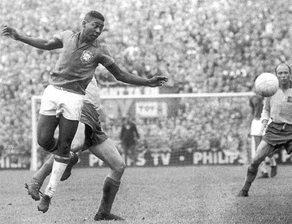 pele 1958 best world cup football performance