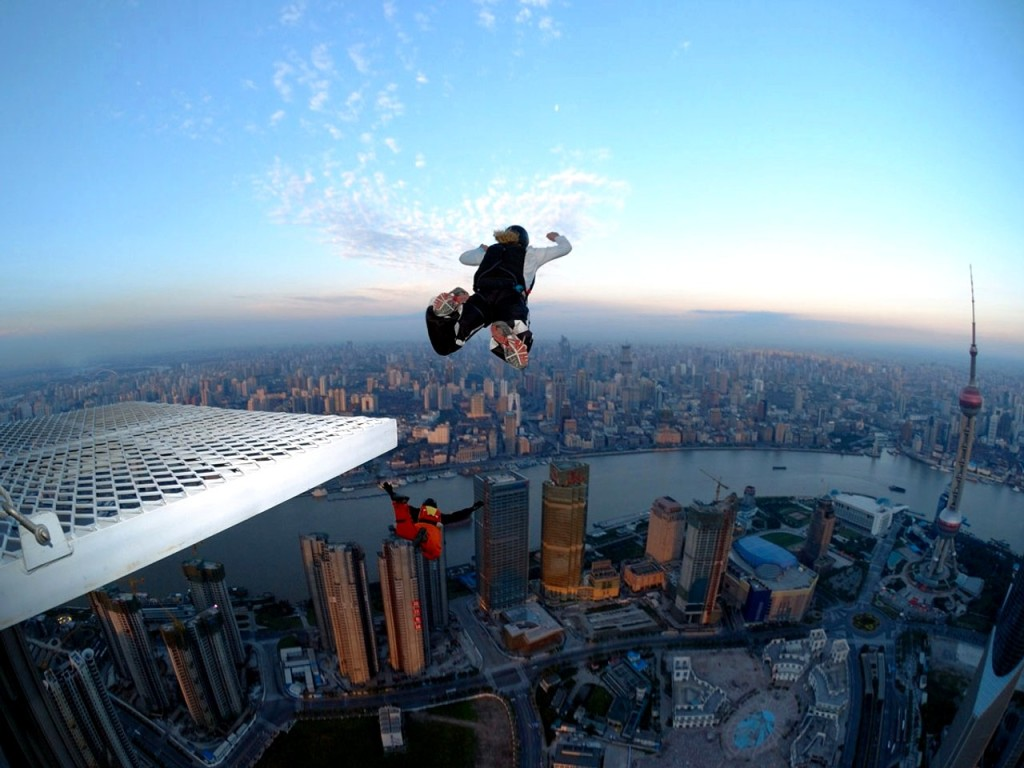 Base Jumping - Extreme Sports