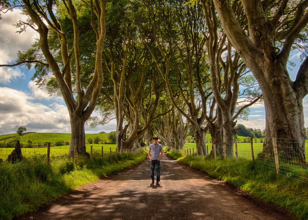 Dark Hedges in Northern Ireland2