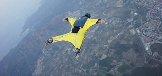 wingsuit flying extreme sprts