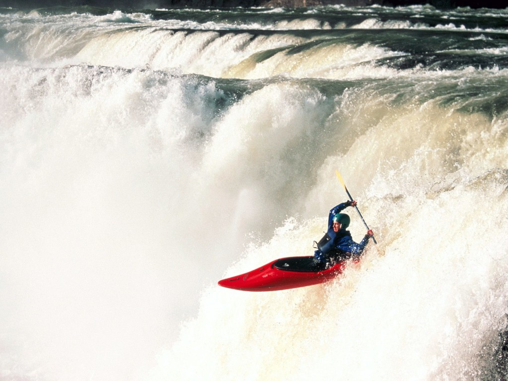 canoeing- Extreme Sports