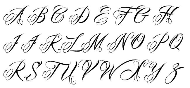 Best Tattoo Fonts - Mardian Pro