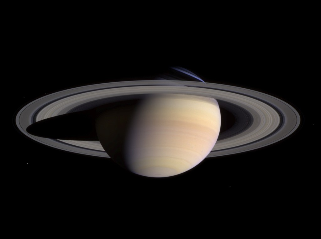 Facts about Saturn - Saturn has flattened poles