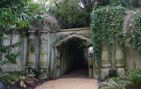 Most Haunted Places Highgate Cemetery North London England