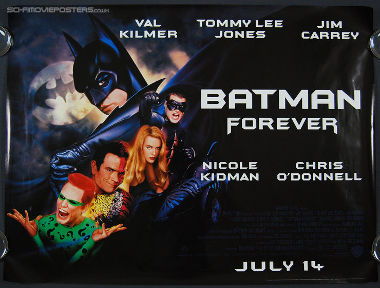 Worst movie sequels Batman Forever
