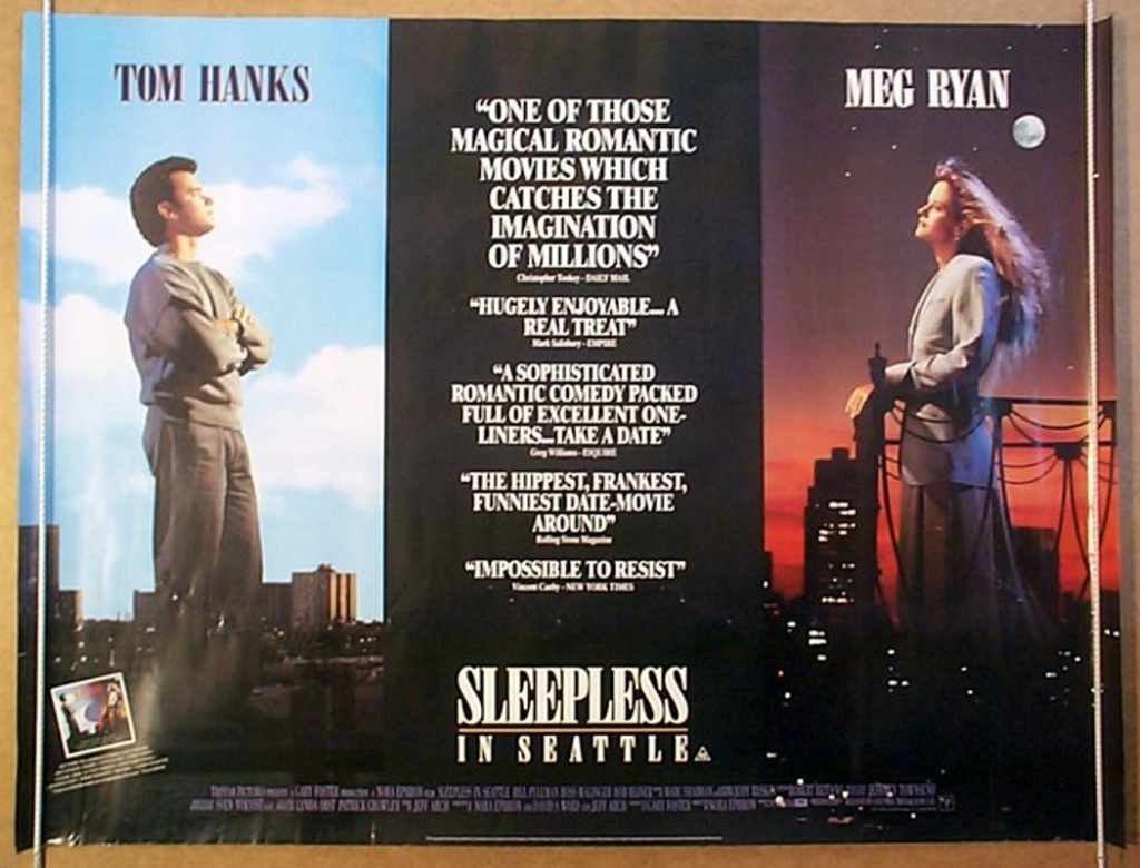 Best Romantic movies of all time SLEEPLESS IN SEATTLE