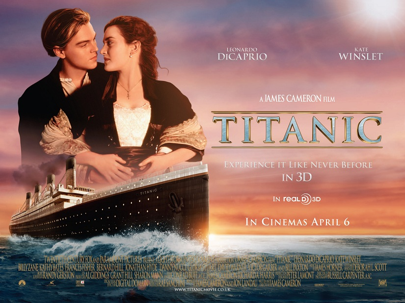 Best Romantic movies of all time - Titanic