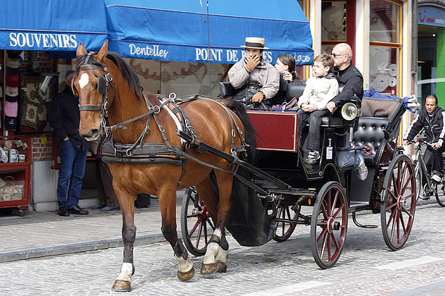 Most Romantic cities in the world - Carriage Ride Bruges, Belgium