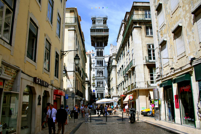 Most-Romantic-cities-in-the-world-Santa-Justa-Elevator-lisbon-portugal