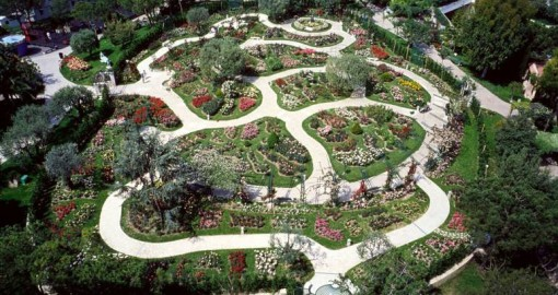Most Romantic cities in the world - The Princess Grace Rose Garden, monte carlo, monaco
