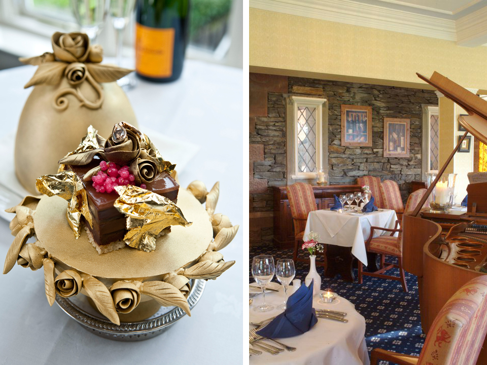 most expensive foods -  Lindeth Howe Country House Hotel, England — $35,000 Pudding