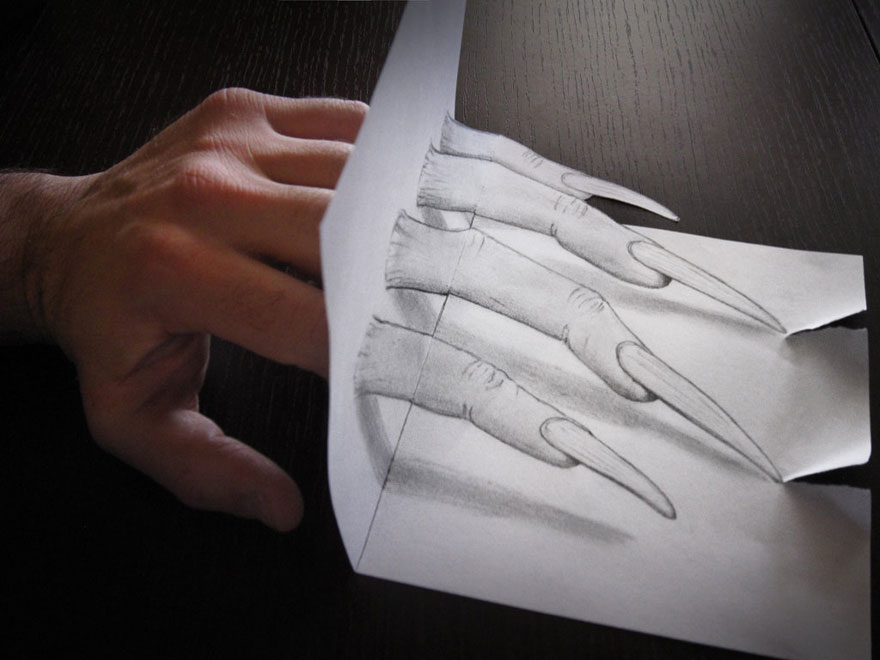 Amazing 3d pencil Drawings 11