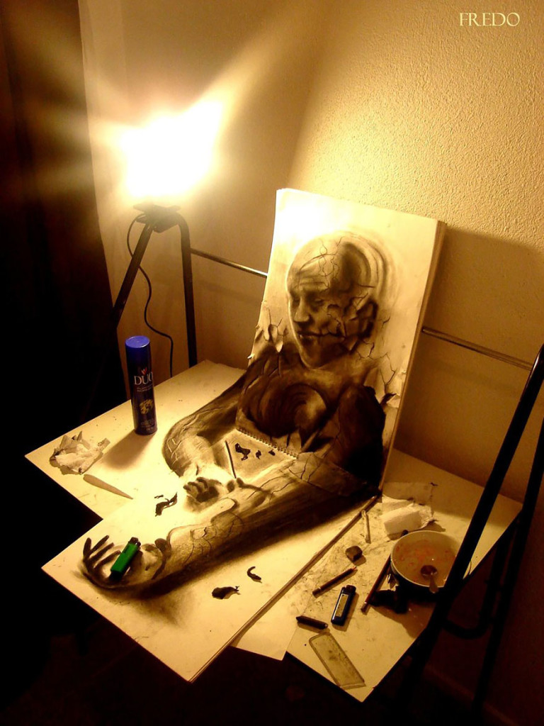 Amazing 3d pencil Drawings 15