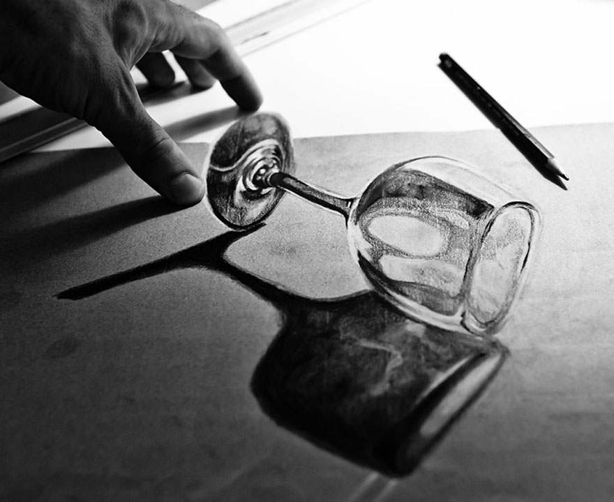 Amazing 3d pencil Drawings 2