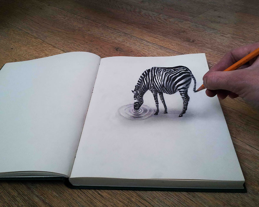 Amazing 3d pencil Drawings 3