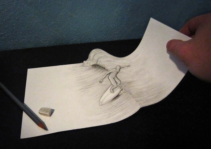 Amazing 3d pencil Drawings 5