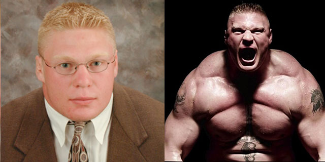 WWE Wrestler: Brock Lesnar