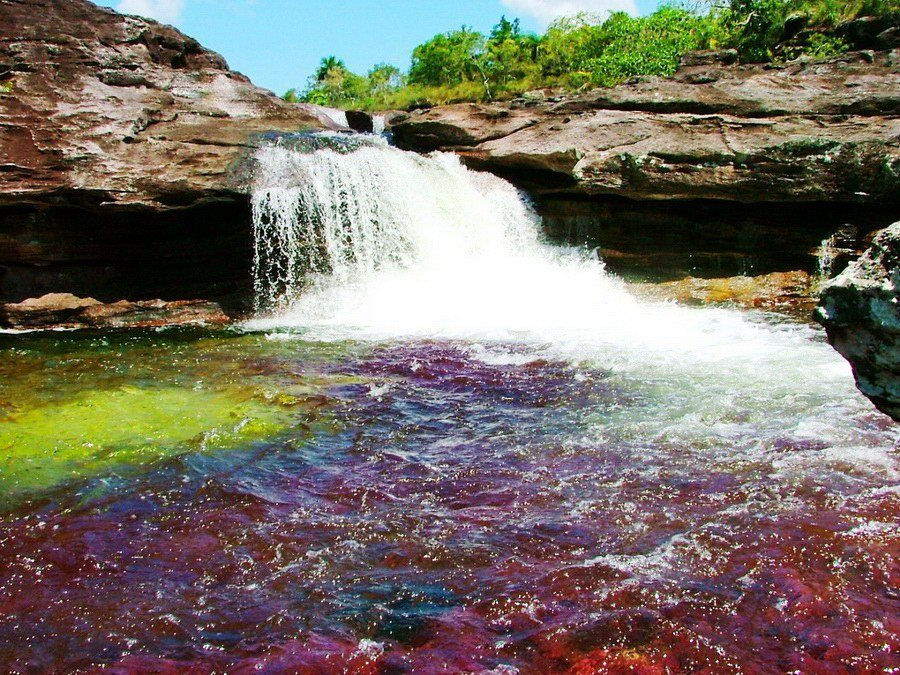 Crazy Places you won't believe exist - lake of 5 colours
