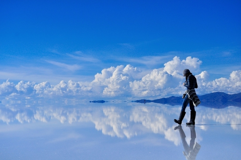 Crazy Places you won't believe exist - salt flats